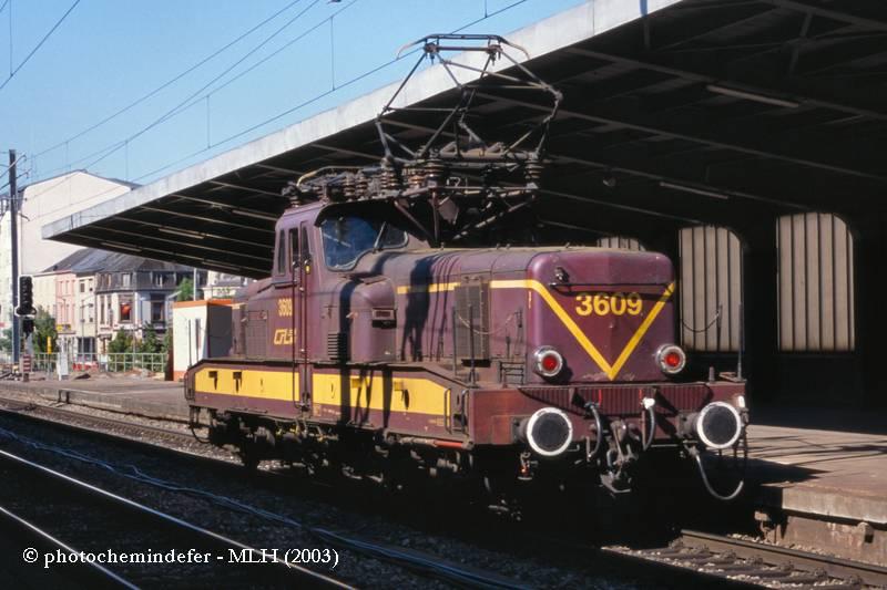 BB 3609 - Esch-sur-Alzette